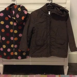 Gymboree Two Coats In One